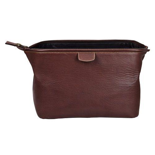 Wash Bag - Brown-3