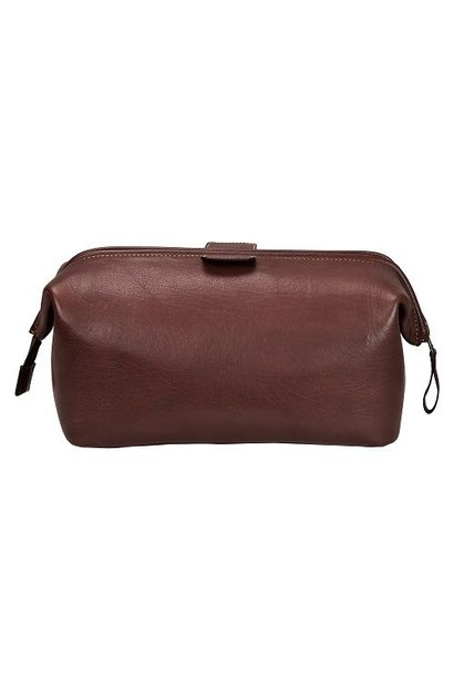 Wash Bag | Brown