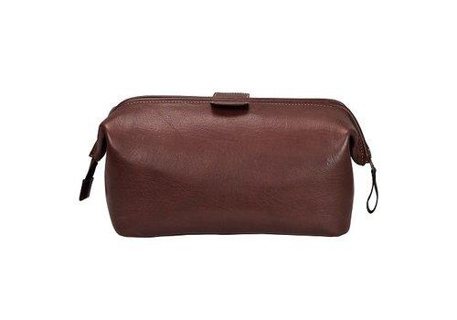 DULWICH Wash Bag | Brown