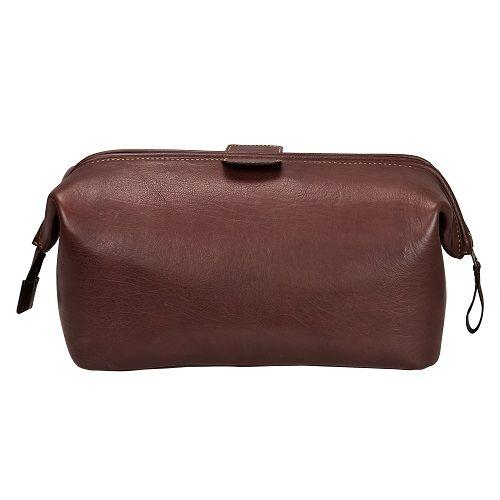 Wash Bag - Brown-1