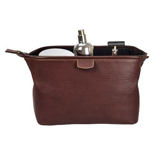 Wash Bag - Brown-2