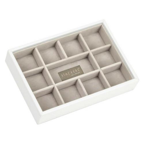 Mini 2-Set Juwelen Sieraden Doos | White & Stone-4