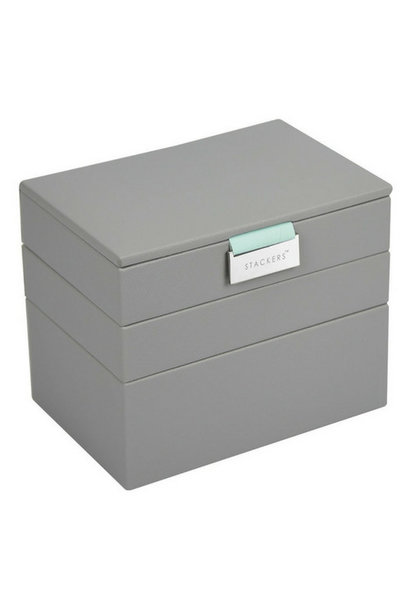Box Mini 3-Set Jewelry Box - Pop Mint