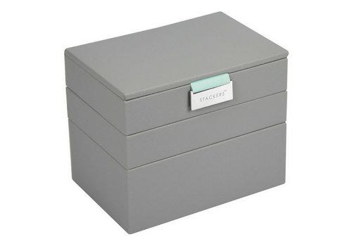 STACKERS Box Mini 3-Set Juwelendoos - Pop Mint