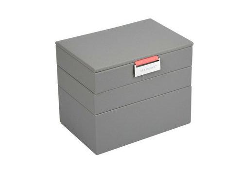 STACKERS Box Mini 3-Set Juwelendoos - Pop Coral