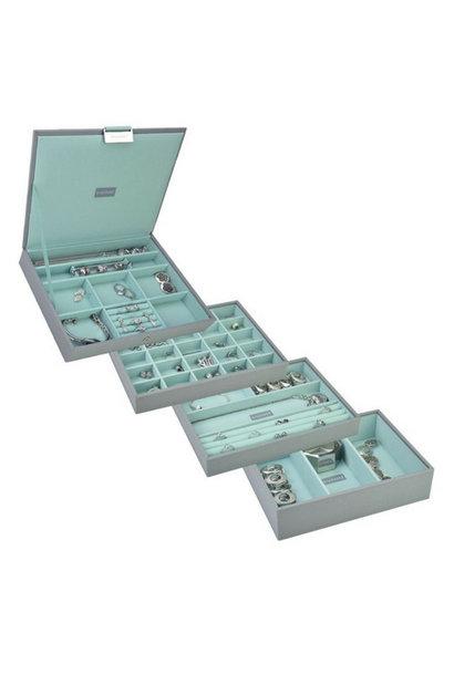Box 4-Set Classic 4-Set Jewelry Box - Pop Mint