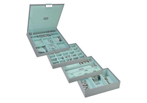 STACKERS Box Classic 4-Set Juwelendoos - Pop Mint