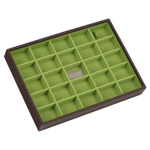 Box Classic 4-Set stapelbare sieradendoos in Choc & Brights-6