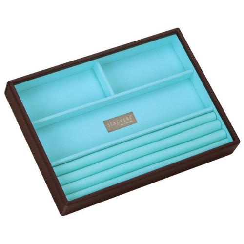 Box Classic 4-Set stapelbare sieradendoos in Choc & Brights-7