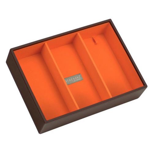 Box Classic 4-Set stapelbare sieradendoos in Choc & Brights-8