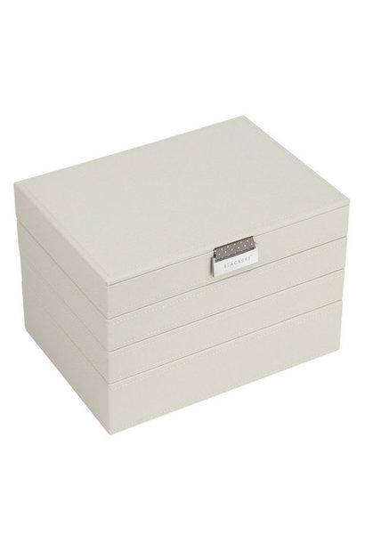Box 4-Set Classic 4-Set Jewelry Box - Vanilla
