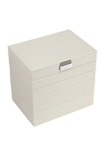 Box Classic 5-Set Jewelry Box - Vanilla