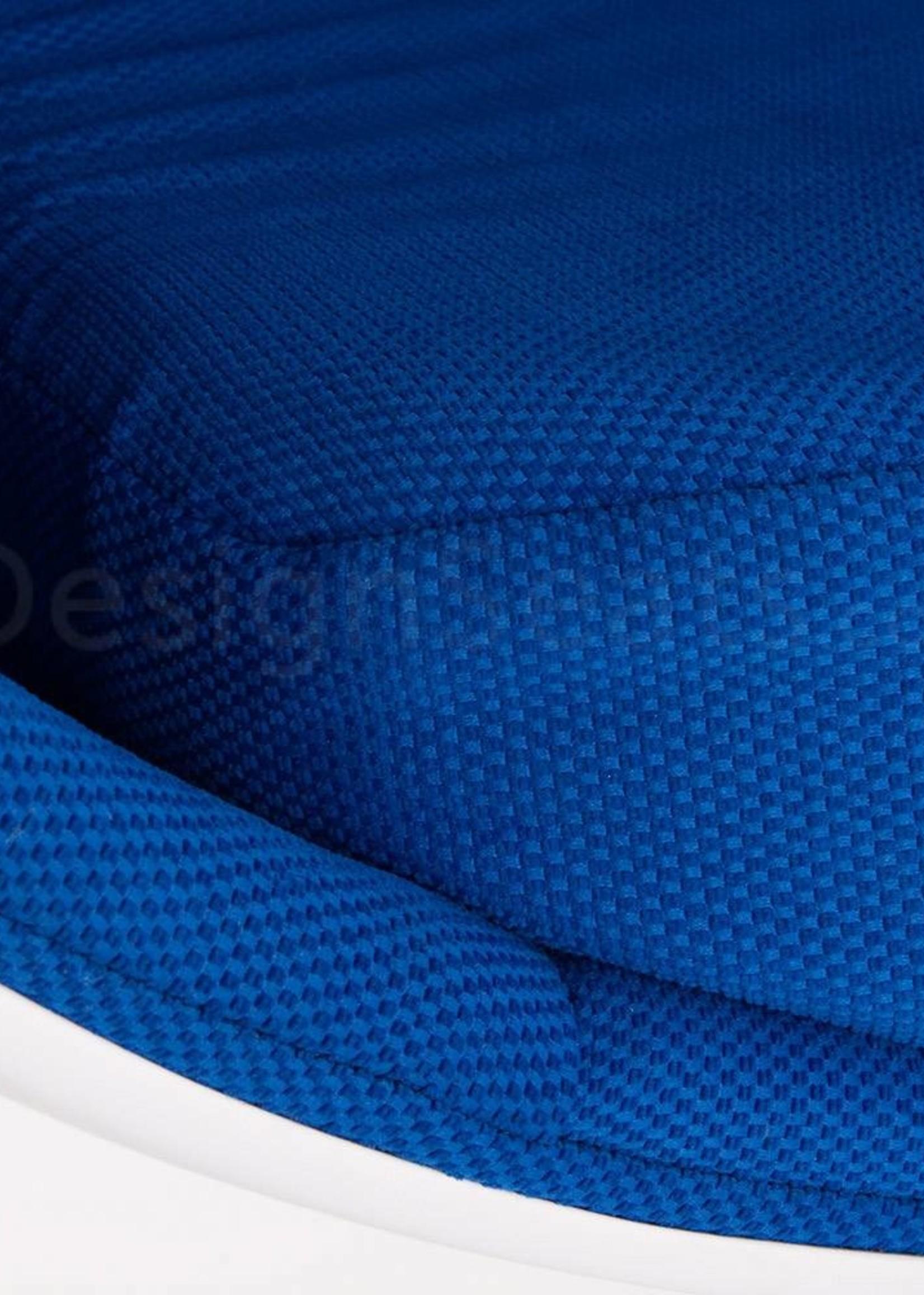 Ball Globe Lounge Chair wit-blauw
