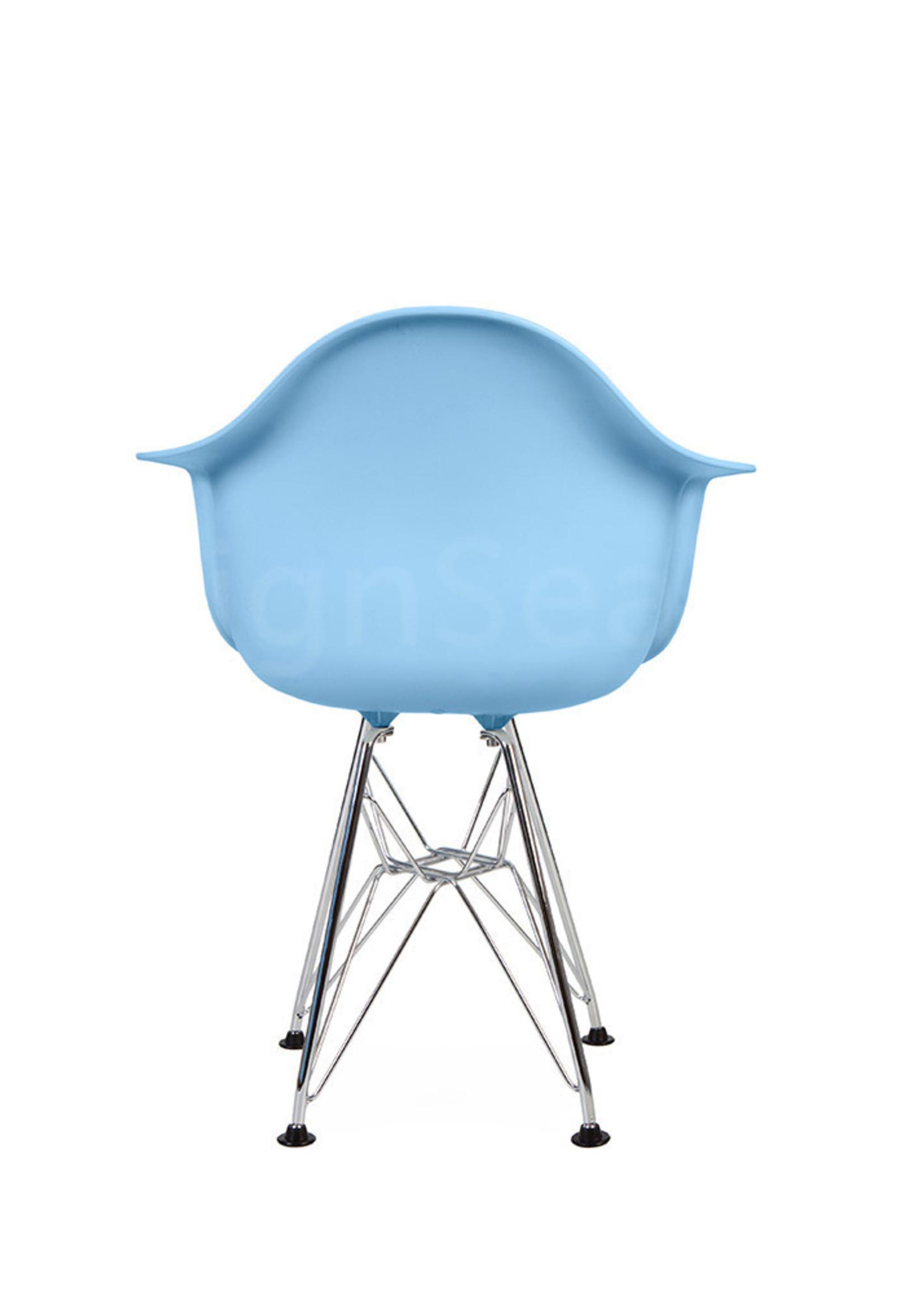 DAR Eames Design Kinderstoel Pastel Baby Blauw