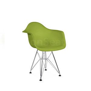 DAR Eames Design Kinderstoel Lime Groen