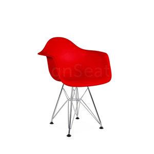 DAR Eames Design Kinderstoel Tomaten Rood