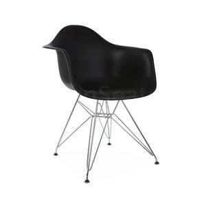 DAR Eames Design Kinderstoel Zwart