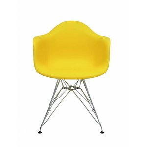 DAR Eames Design Chair Yellow
