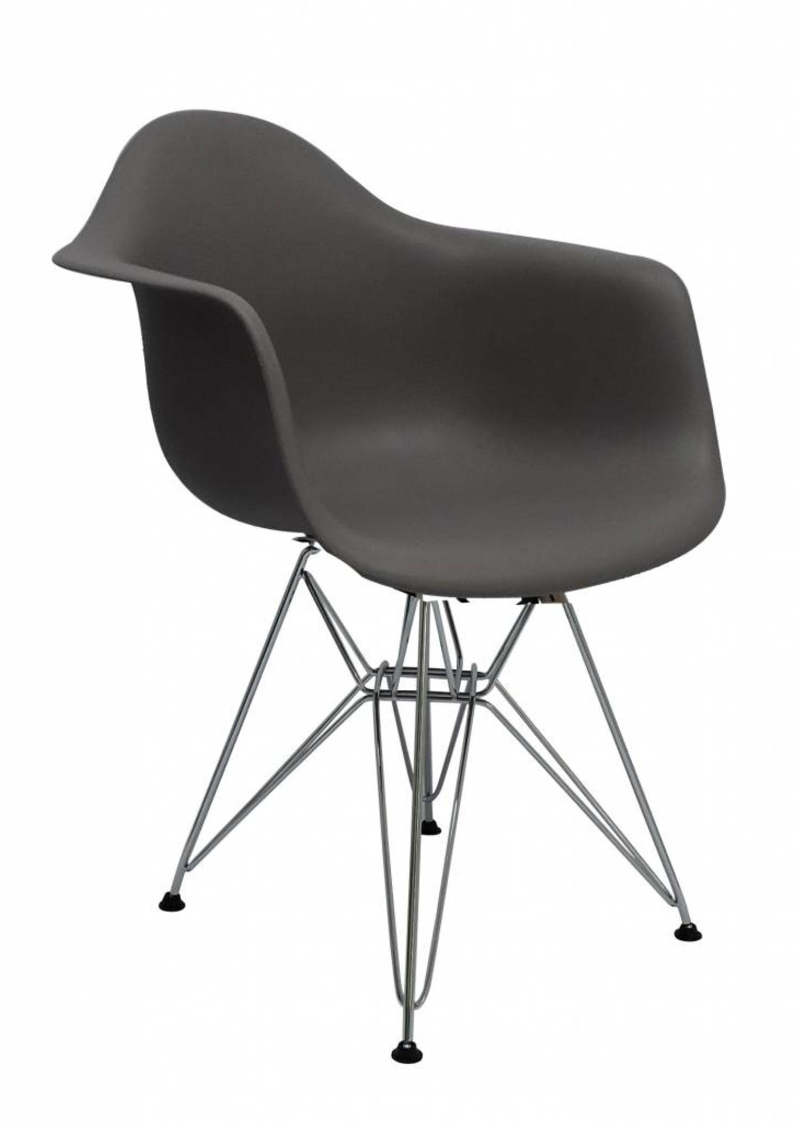 DAR Eames Design Chair Grey
