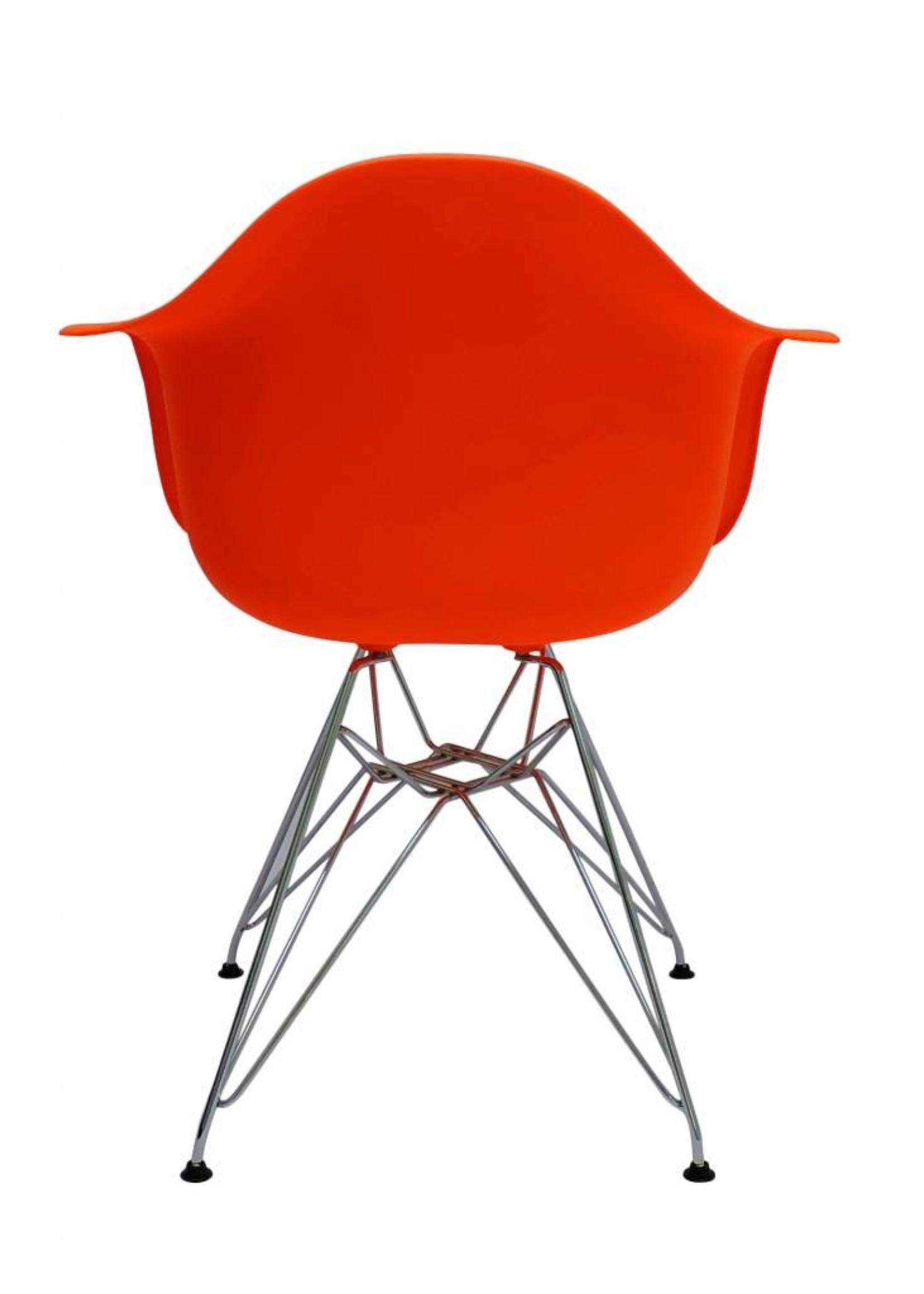 DAR Eames Design Stoel Oranje