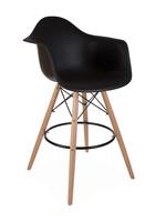 DAW BAR Eames Bar stool Black