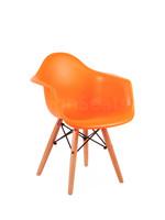 DAW Eames Kids chair Fel oranje