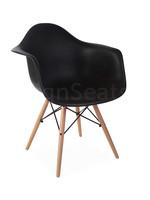 DAW Kinderstoel Zwart