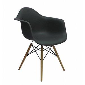 DAW Eames Design Stoel Grijs