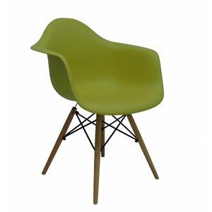 DAW Eames Design Chair Green