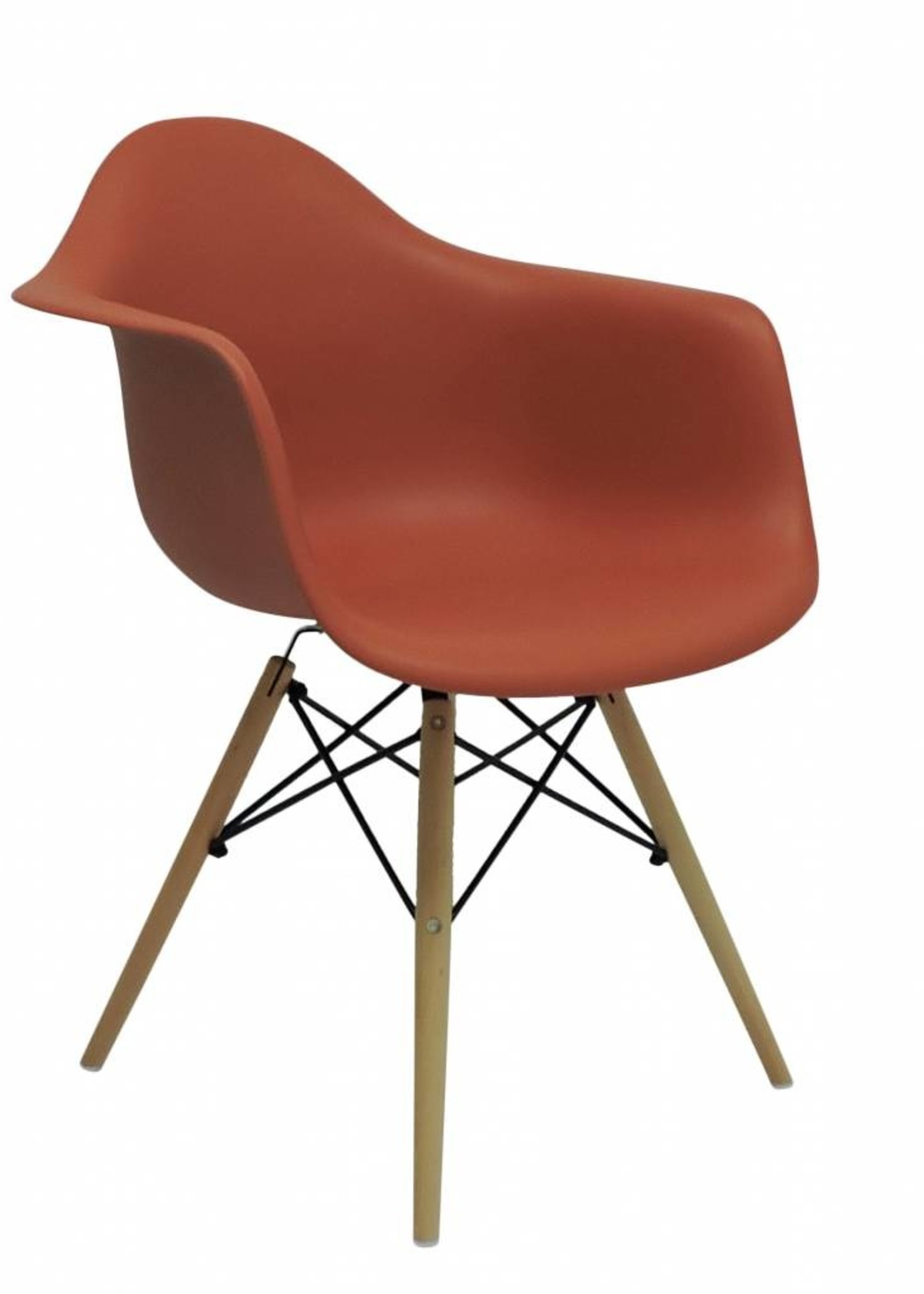 DAW Eames Design Chair Orange