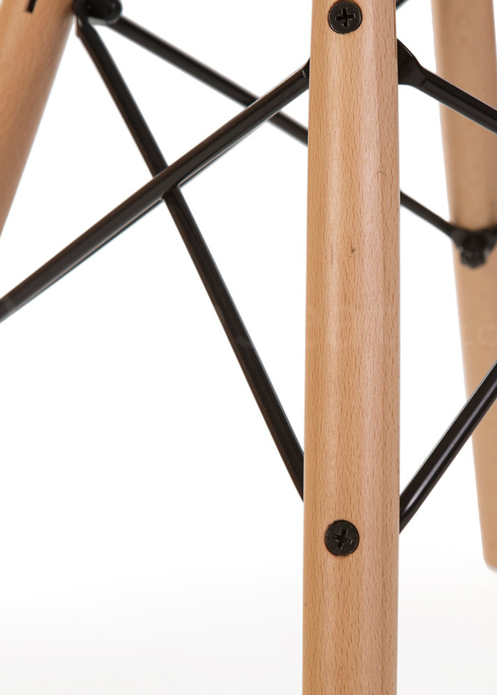 DAW Eames Design Stoel Rood