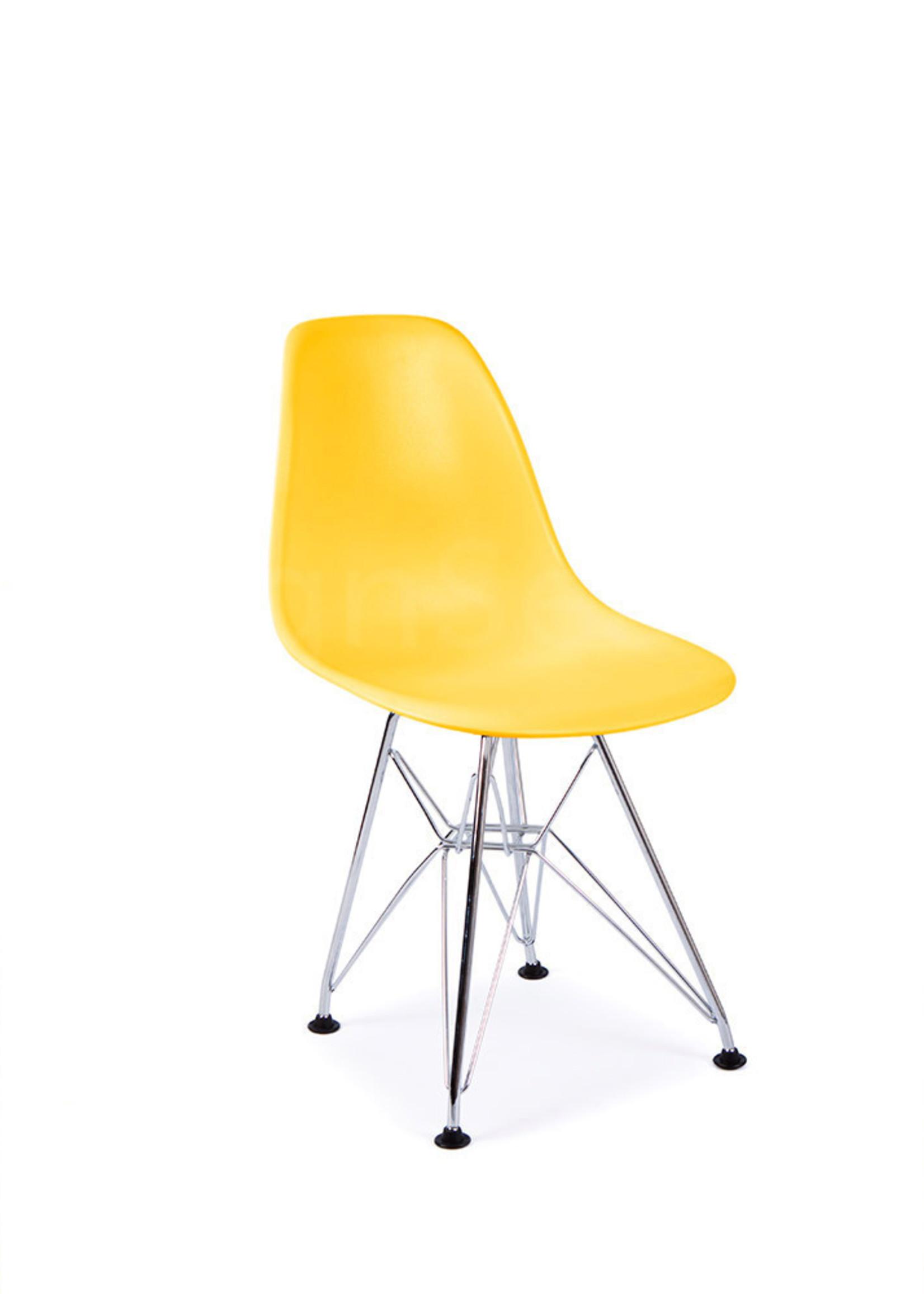 DSR Eames Kinderstoel Maisgeel