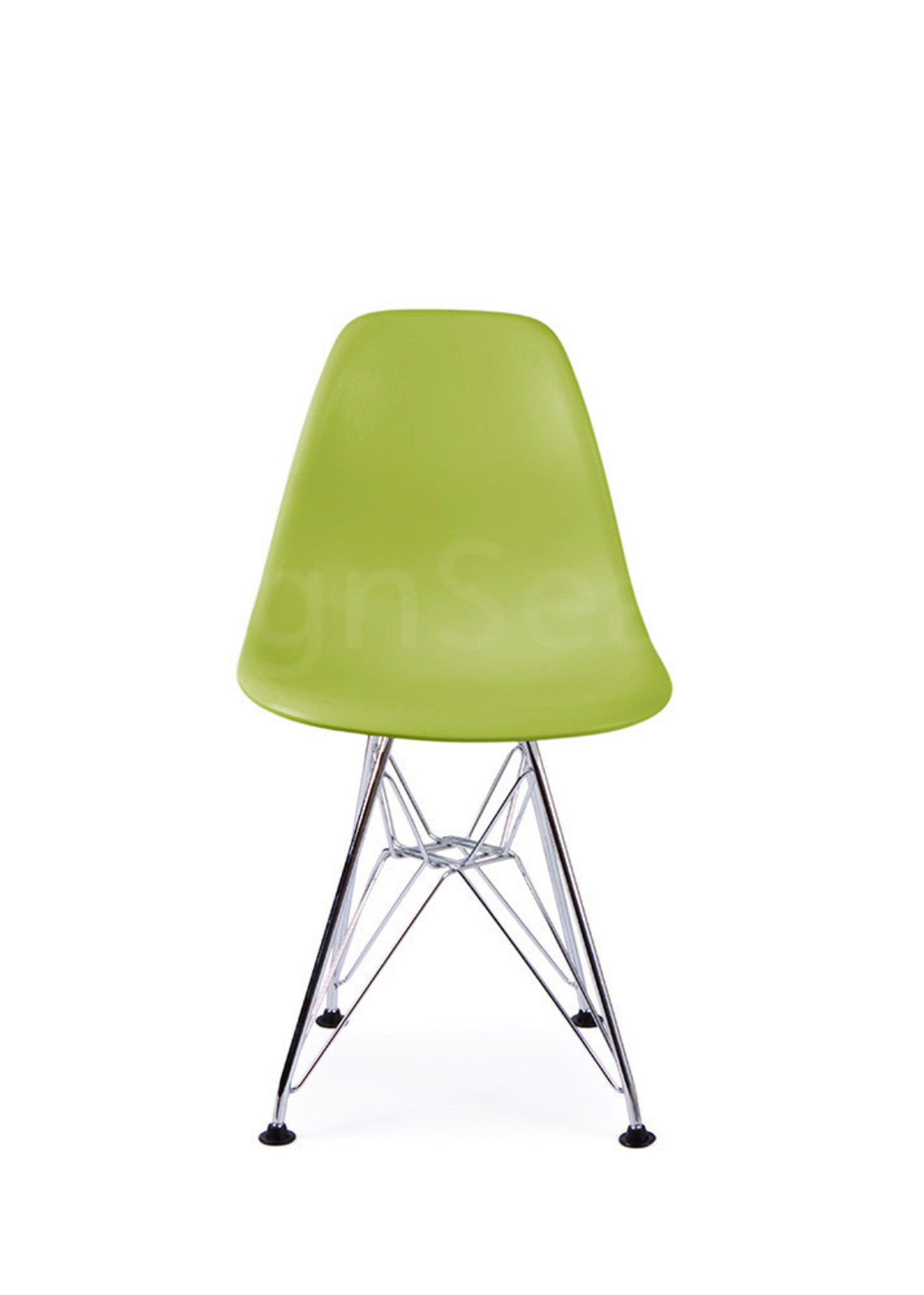 DSR Eames Kinderstoel Limegroen