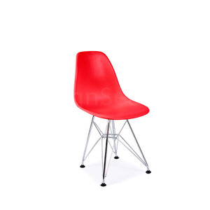 DSR Eames Kids chair Tomato Red