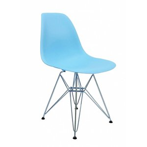 DSR Eames Design Stoel Blauw