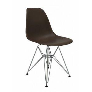 DSR Eames Design Stoel Bruin