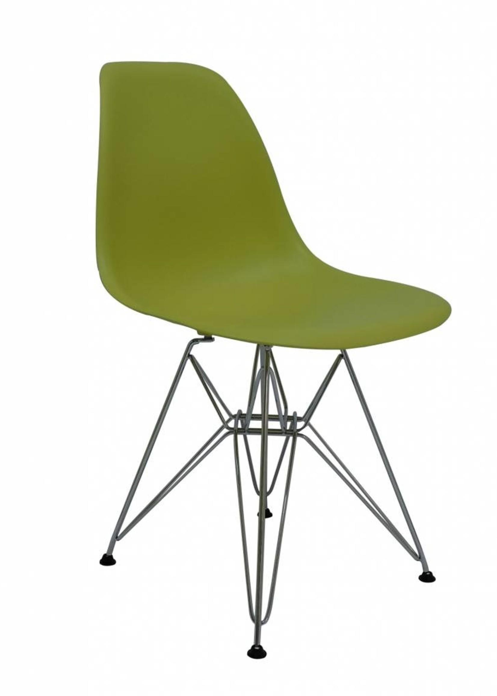 DSR Eames Design Stoel Groen