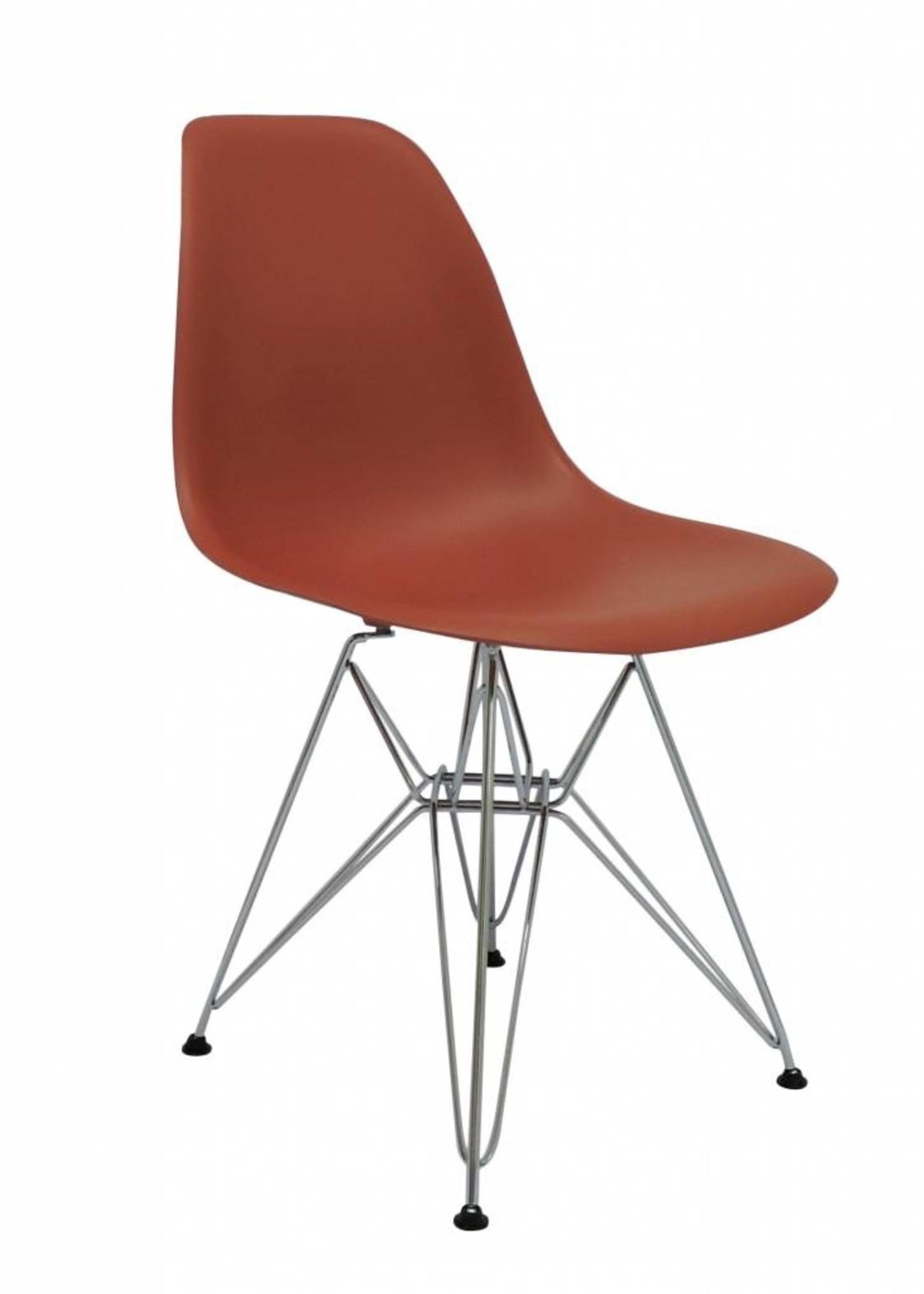 DSR Eames Design Stoel Oranje
