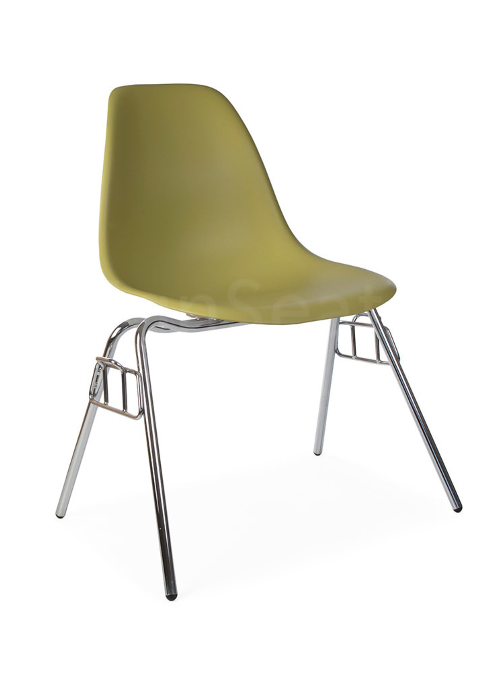 DSS Stacking Chair Dining Chair Green