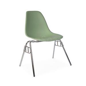 DSS Eames Design Stapelstoel Groen