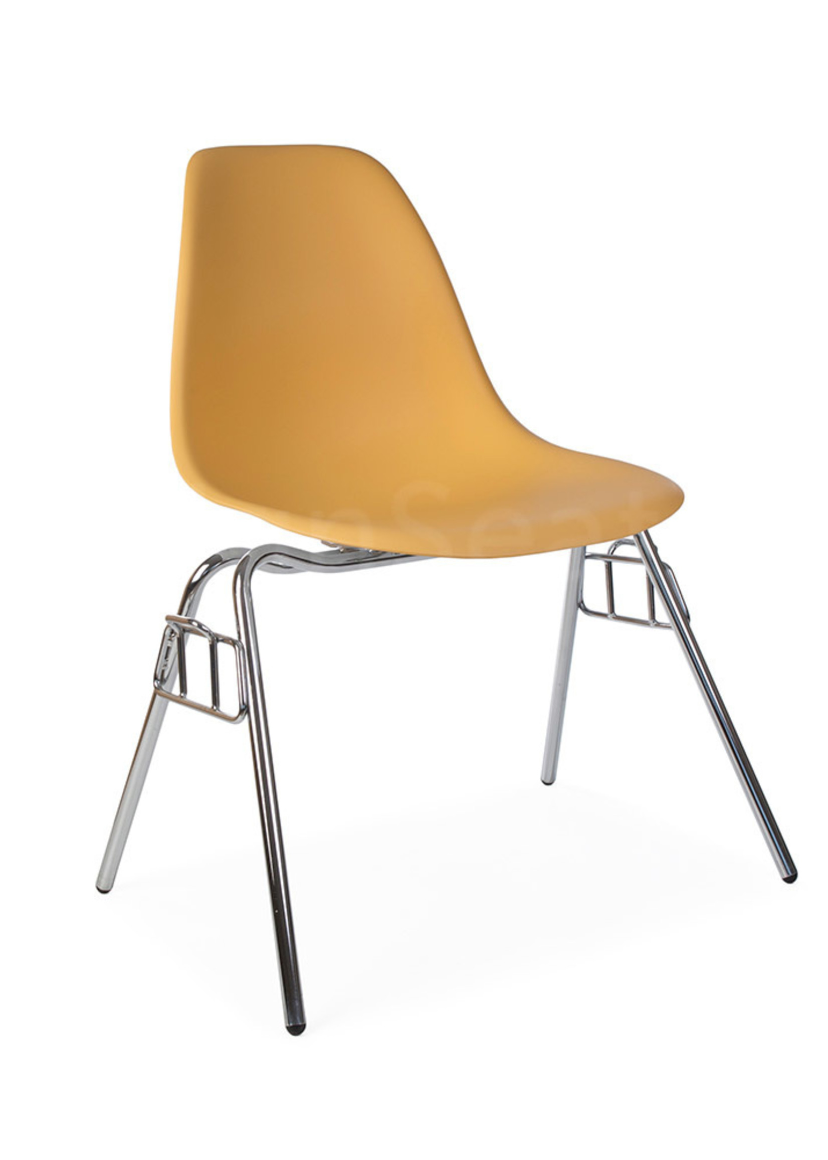 DSS Stacking Chair Dining Chair Orange