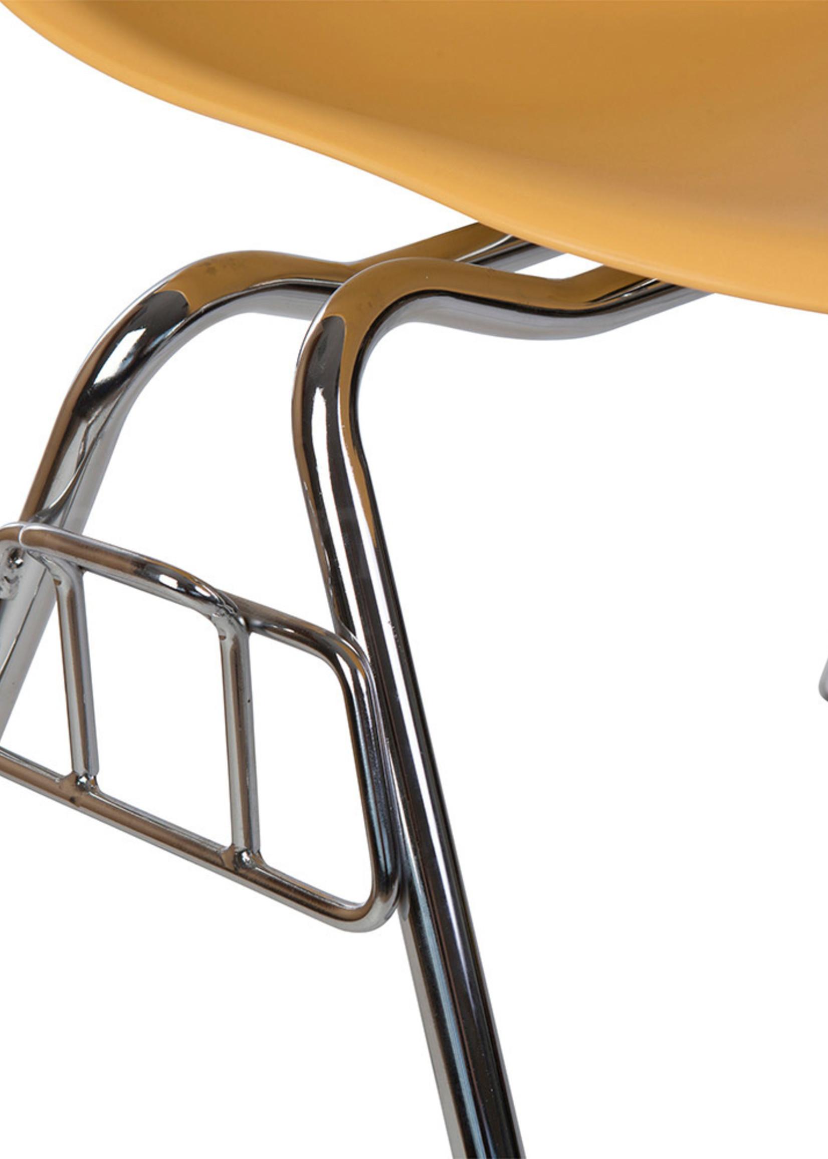 DSS Eames Design Stapelstoel Oranje