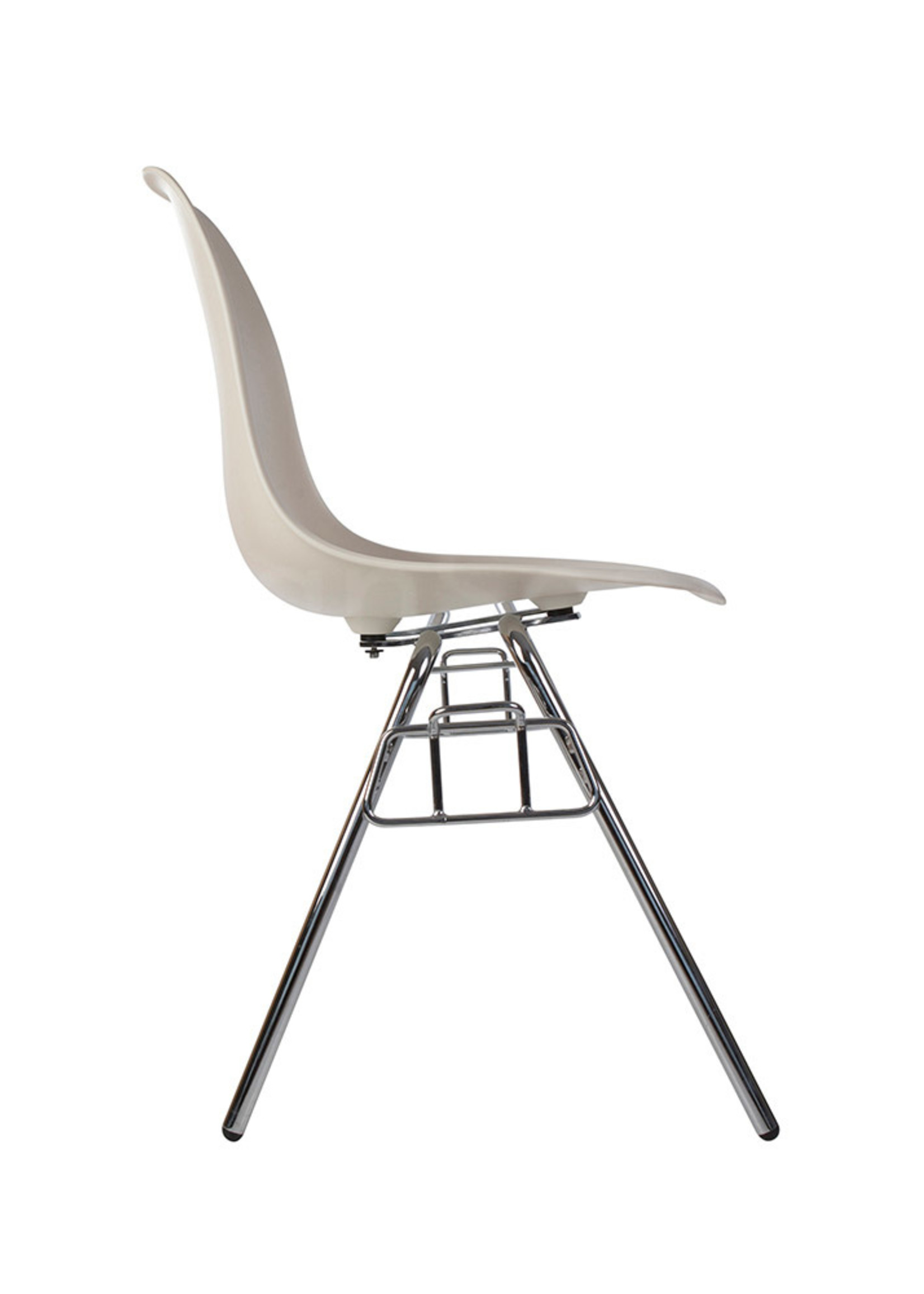 DSS Stacking Chair Dining Chair White