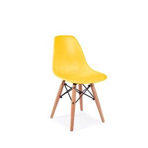 DSW Kinderstoel Eames Maisgeel