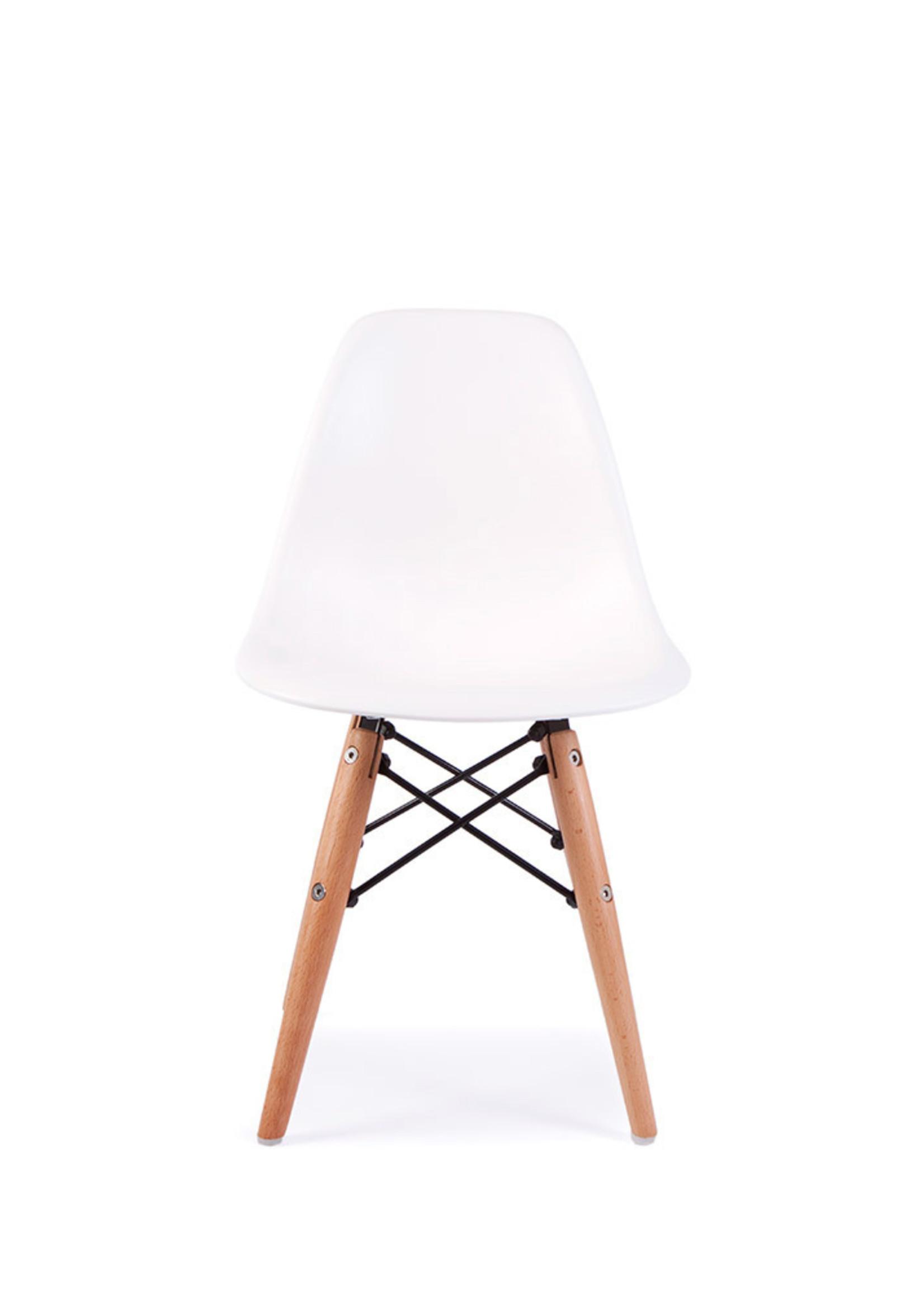 DSW Kinderstoel Eames Wit