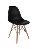 DSW Kinderstoel Zwart