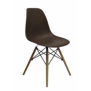 DSW Eames Design Stoel Bruin