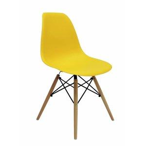 DSW Eames Design Stoel Geel