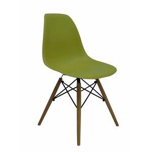 DSW Eames Design Stoel Groen