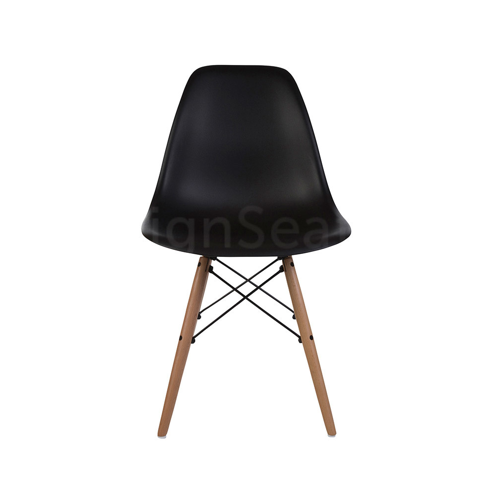 Reproductie Design Stoelen.Dsw Eames Design Dining Chair Black Mrs Beautiful